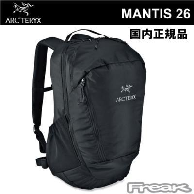 マンティス26 デイパック Mantis 26L Daypack BLACK