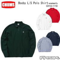 CHUMS チャムス レディース トップス CH12-1110<Booby L/S Polo Shirt Women's ブービーロングスリーブポロシャツ(ポロシャツ)> ※取り寄せ品