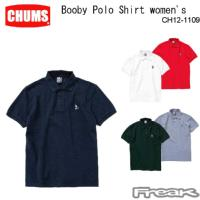 CHUMS チャムス レディース トップス CH12-1109<Booby Polo Shirt Women's ブービーポロシャツ(ポロシャツ)> ※取り寄せ品