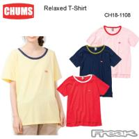 CHUMS チャムス トップス/Tシャツ  CH18-1108<Relaxed T-Shirt   リラックスTシャツ>※取り寄せ品