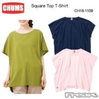 CHUMS チャムス トップス/Tシャツ  CH18-1109<Square Top T-Shirt   スクエアトップTシャツ>※取り寄せ品
