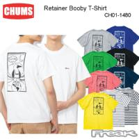 CHUMS チャムス メンズ Tシャツ CH01-1480< Retainer Booby T-Shirt   リテイナーブービーTシャツ >※取り寄せ品