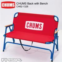 CHUMS チャムス チェア 椅子 キャンプ アウトドア CH62-1328<CHUMS Back with Bench チャムスバッグウィズベンチ>