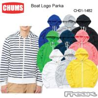 CHUMS チャムス メンズ パーカー CH01-1482< Boat Logo Parka ボートロゴパーカー>※取り寄せ品