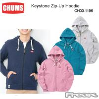 CHUMS チャムス CH00-1196<Keystone Zip-Up Hoodie    キーストーンジップアップフーディ(トップス|スウェット)>※取り寄せ品