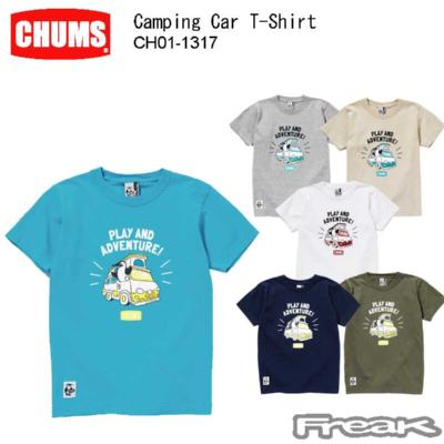 CHUMS チャムス CH01-1315<Booby's Kitchen T-Shirt ブービーズキッチンTシャツ(トップス/Tシャツ)>※取り寄せ品