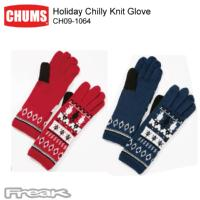 CHUMS チャムス 手袋 CH09-1064<Holiday Chilly Knit Glove ホリデイチリーニットグローブ>※取り寄せ品