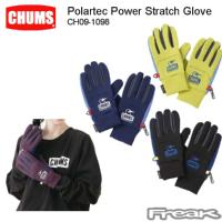 CHUMS チャムス CH09-1098<Polartec Power Stratch Glove プラスチックパワーストレッチグローブ(ウォーマー/手袋)>※取り寄せ品
