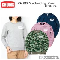 CHUMS チャムス CH10-1187<CHUMS One Point Logo Crew  チャムスワンポイントロゴクルー(パーカー|スウェット)>※取り寄せ品