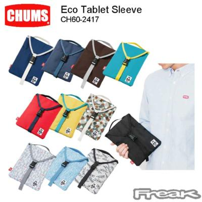 CHUMS チャムス  バッグ ポーチ CH60-2417<Eco Tablet Sleeve エコタブレットスリーブ(スマホ/PC/携帯ケース)>