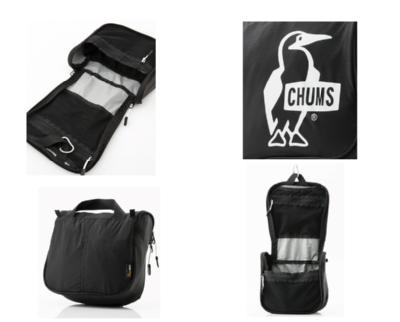 CHUMS チャムス  バッグ ポーチ CH60-2526<Organizer Pouch オーガナイザーポーチ>