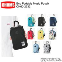 CHUMS チャムス  バッグ ポーチ CH60-2532<Eco Portable Music Pouch エコポータブルミュージックポーチ>