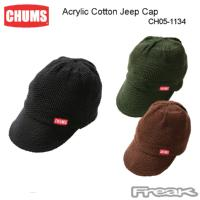 CHUMS チャムス キャップ CH05-1134<Acrylic Cotton Jeep Cap アクリルコットンジープキャップ(帽子/キャップ)>※取り寄せ品