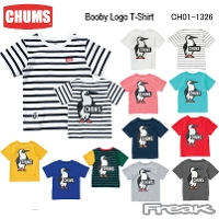 CHUMS チャムス CH01-1326<Booby Logo T-Shirt ブービーロゴTシャツ(トップス/Tシャツ)>※取り寄せ品