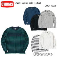 CHUMS チャムス CH01-1322<Utah Pocket L/S T-Shirt  ユタポケット長袖Tシャツ(トップス/カットソー)>※取り寄せ品