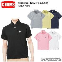CHUMS チャムス CH01-1346<Wappen Shawl Polo Shirt ワッペンショールポロシャツ(トップス/ポロシャツ)>※取り寄せ品