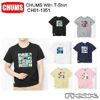 CHUMS チャムス CH01-1351<CHUMS With T-Shirt  チャムスウィズTシャツ(トップス/Tシャツ)>※取り寄せ品