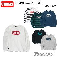 CHUMS チャムス CH01-1320<CHUMS Logo L/S T-Shirt チャムスロゴ長袖Tシャツ(トップス/カットソー)>※取り寄せ品