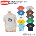 CHUMS チャムス CH01-1243<Booby Face Logo T-Shirt  ブービーフェイスロゴTシャツ >※取り寄せ品