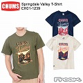 (CHUMS チャムス) CH01-1239<Springdale Valley T-Shirt  スプリングデールヴァレーTシャツ>※取り寄せ品