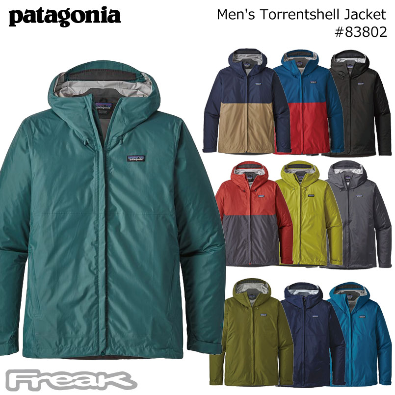 patagonia men's torrentshell jacket #83802