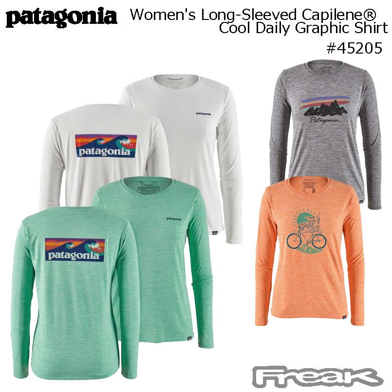 patagonia women's longsleeved capline #45205
