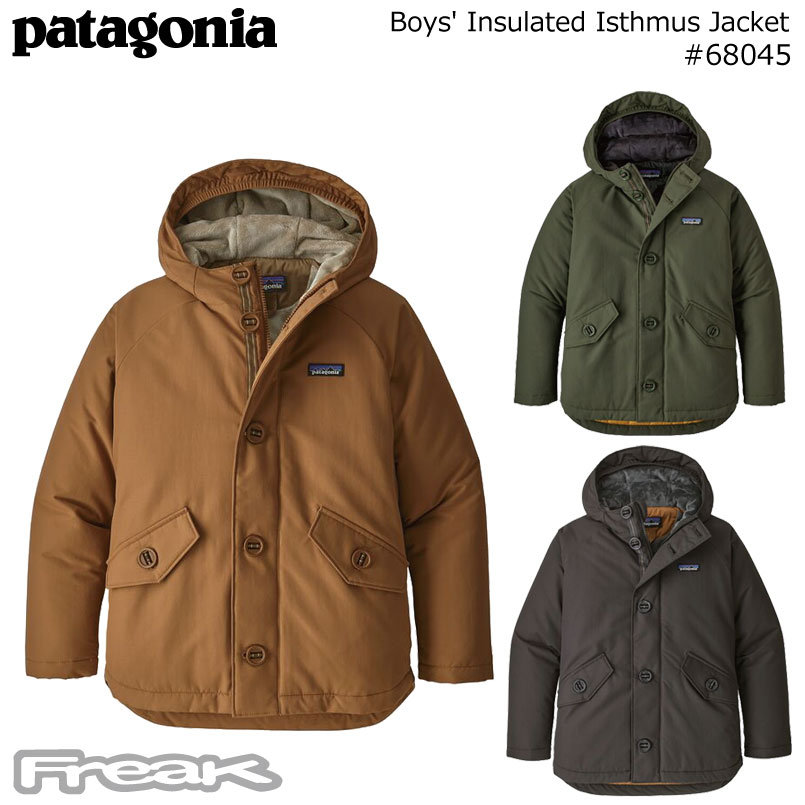 patagonia Boys' Insulated Isthmus Jacket#68045